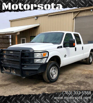 2012 Ford F-250 Super Duty for sale at Motorsota in Becker MN