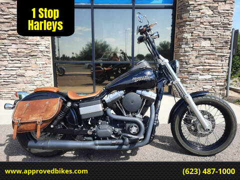 2012 Harley-Davidson Dyna Street bob FXDB for sale at 1 Stop Harleys in Peoria AZ