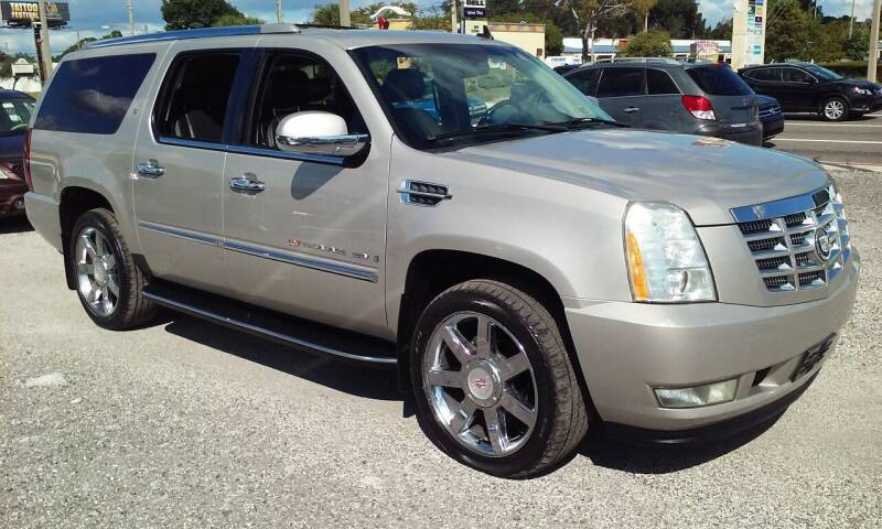 2007 Cadillac Escalade ESV for sale at Pinellas Auto Brokers in Saint Petersburg FL
