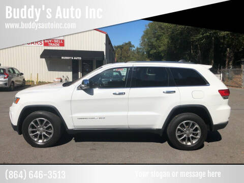 2015 Jeep Grand Cherokee for sale at Buddy's Auto Inc in Pendleton SC