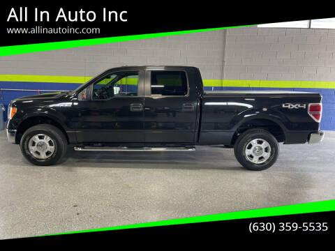 2013 Ford F-150 for sale at All In Auto Inc in Addison IL