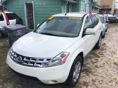 2005 Nissan Murano for sale at Castagna Auto Sales LLC in Saint Augustine FL