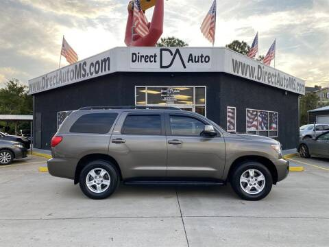 2016 Toyota Sequoia for sale at Direct Auto in D'Iberville MS