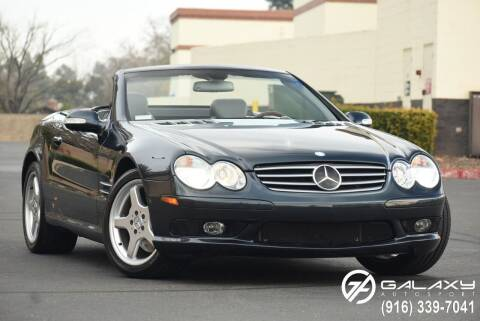 2003 Mercedes-Benz SL-Class for sale at Galaxy Autosport in Sacramento CA