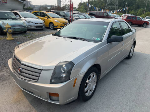 2004 Cadillac CTS for sale at Trocci's Auto Sales in West Pittsburg PA