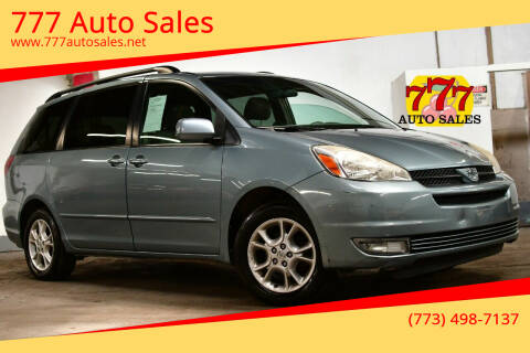 2005 Toyota Sienna for sale at 777 Auto Sales in Bedford Park IL