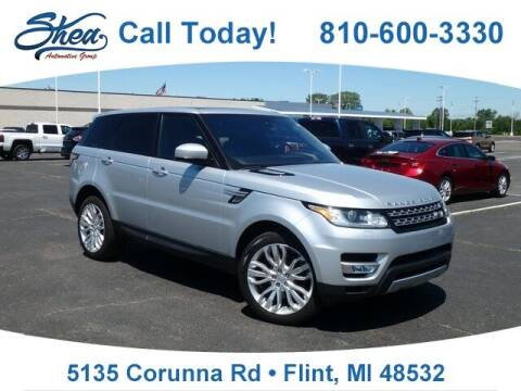 2016 Land Rover Range Rover Sport for sale at Erick's Used Car Factory in Flint MI