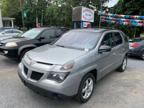 2003 Pontiac Aztek for sale at Harrisburg Auto Center Inc. in Harrisburg PA