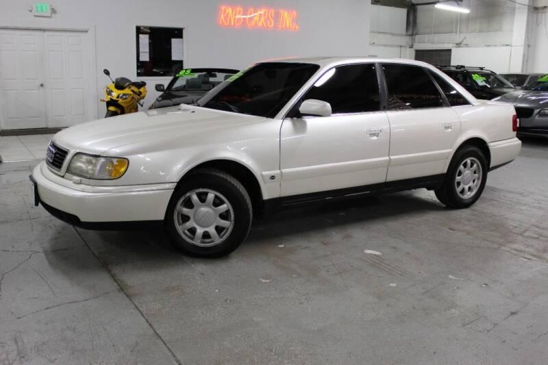 1995 Audi A6 for sale at R n B Cars Inc. in Denver CO
