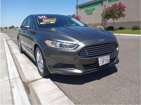 2016 Ford Fusion for sale at D & I Auto Sales in Modesto CA