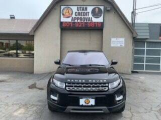 2014 Land Rover Range Rover Evoque for sale at Utah Credit Approval Auto Sales in Murray UT