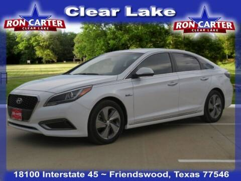 2017 Hyundai Sonata Hybrid for sale at Ron Carter  Clear Lake Used Cars in Houston TX
