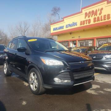 2016 Ford Escape for sale at Popas Auto Sales in Detroit MI
