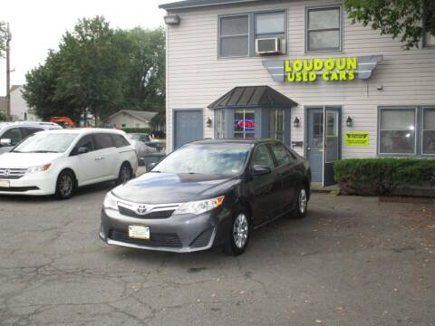 2014 Toyota Camry for sale at Loudoun Used Cars in Leesburg VA
