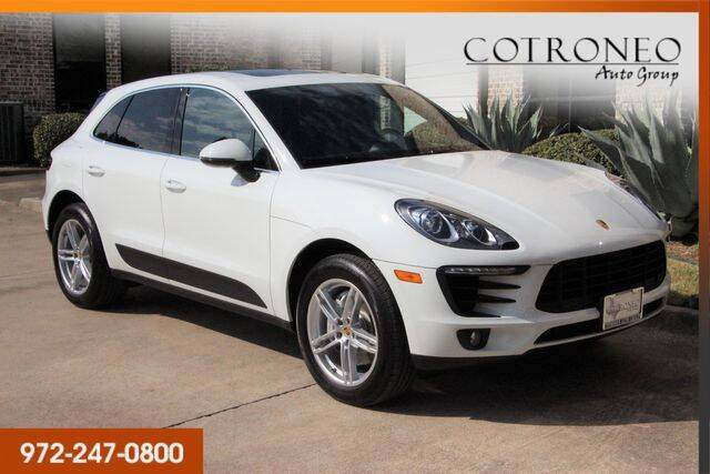 2017 Porsche Macan for sale at COTRONEO AUTO GROUP in Addison TX