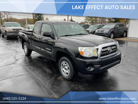 2010 Toyota Tacoma for sale at Lake Effect Auto Sales in Chardon OH