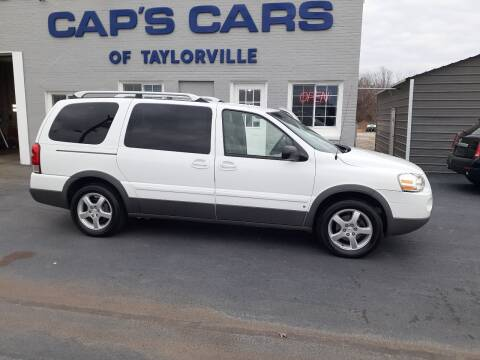 2006 Pontiac Montana SV6 for sale at Caps Cars Of Taylorville in Taylorville IL