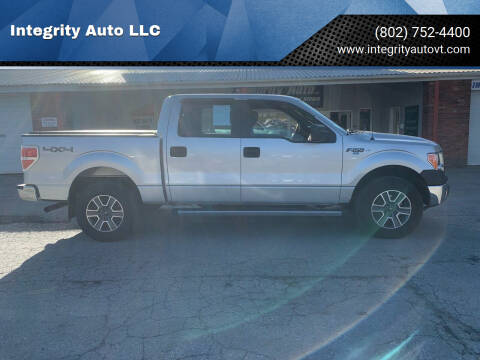2013 Ford F-150 for sale at Integrity Auto LLC - Integrity Auto 2.0 in St. Albans VT