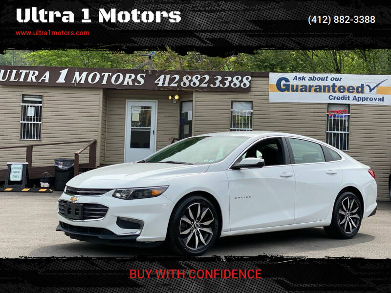 2018 Chevrolet Malibu for sale at Ultra 1 Motors in Pittsburgh PA