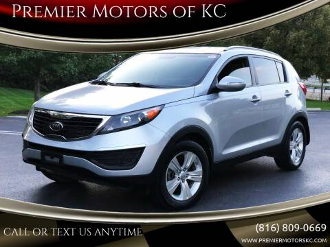 2012 Kia Sportage for sale at Premier Motors of KC in Kansas City MO