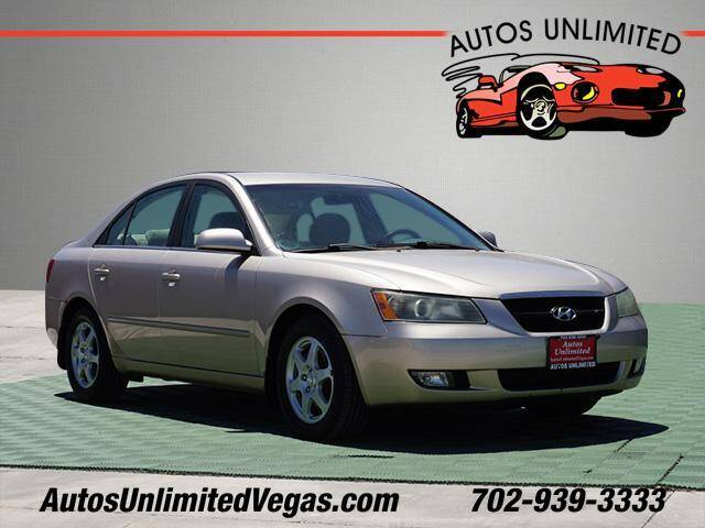2006 Hyundai Sonata for sale at Autos Unlimited in Las Vegas NV