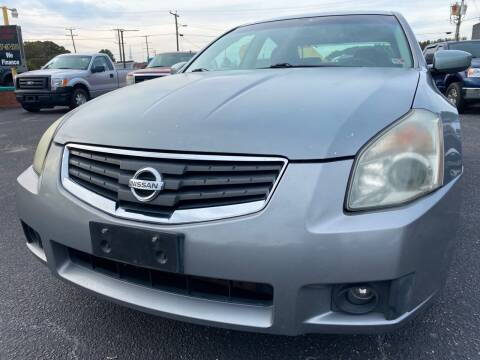 2008 Nissan Maxima for sale at Aiden Motor Company in Portsmouth VA
