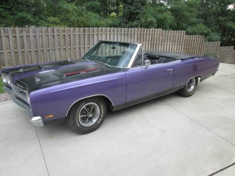 1969 Plymouth GTX for sale at Classic Car Deals in Cadillac MI