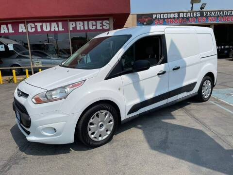 2016 Ford Transit Connect Cargo for sale at Sanmiguel Motors in South Gate CA
