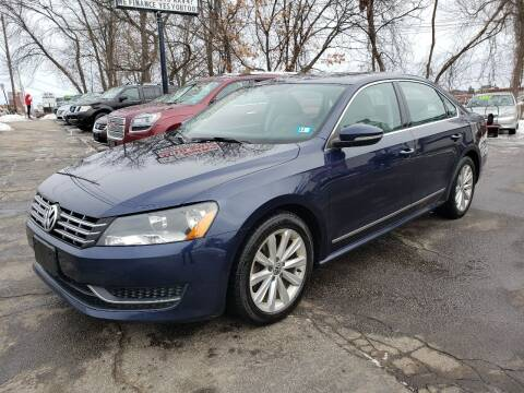 2012 Volkswagen Passat for sale at Real Deal Auto Sales in Manchester NH