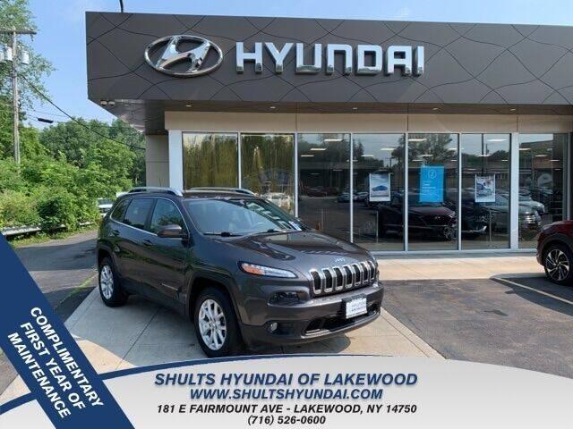 2017 Jeep Cherokee for sale at Shults Hyundai in Lakewood NY