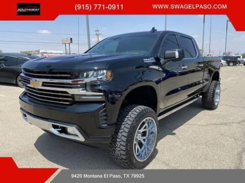 2019 Chevrolet Silverado 1500 for sale at SOUTHWEST AUTO GROUP-EL PASO in El Paso TX