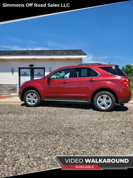 2010 Chevrolet Equinox for sale at Simmons off road sales LLC in Saint Johns MI