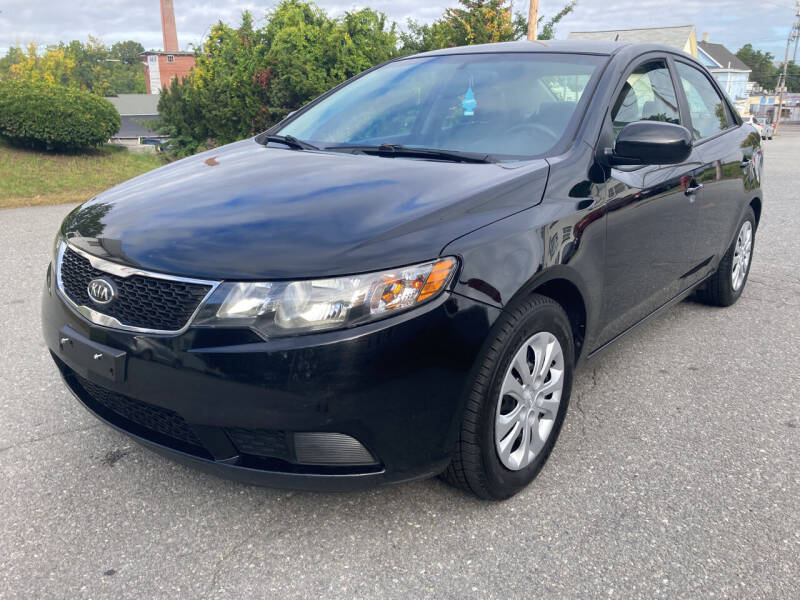 2012 Kia Forte for sale at D'Ambroise Auto Sales in Lowell MA