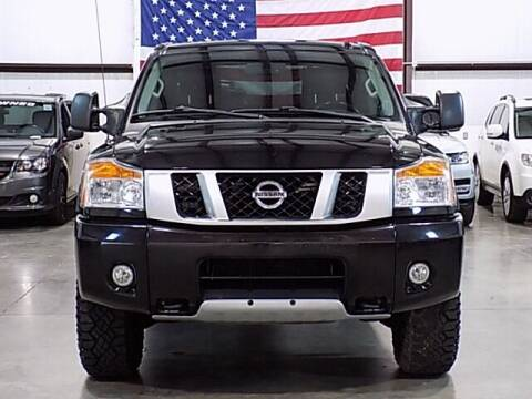 2015 Nissan Titan for sale at Texas Motor Sport in Houston TX