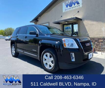 2015 GMC Terrain for sale at Western Mountain Bus & Auto Sales in Nampa ID