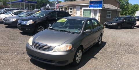 2008 Toyota Corolla for sale at AUTO OUTLET in Taunton MA