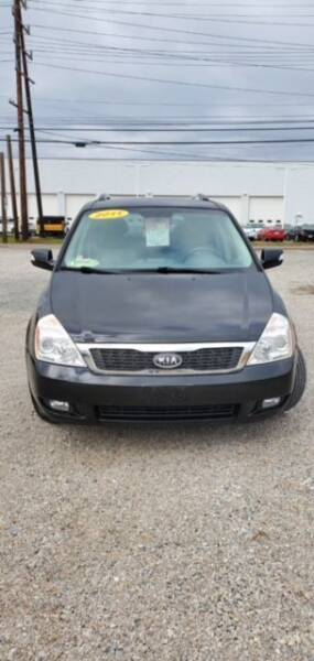 2011 Kia Sedona for sale at Wallers Auto Sales LLC in Dover OH