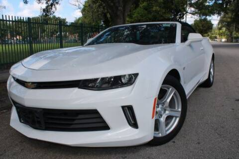 2018 Chevrolet Camaro for sale at OCEAN AUTO SALES in Miami FL