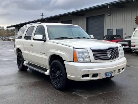 2002 Cadillac Escalade for sale at DASH AUTO SALES LLC in Salem OR