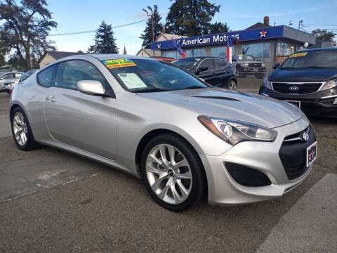 2013 Hyundai Genesis Coupe for sale at All American Motors in Tacoma WA