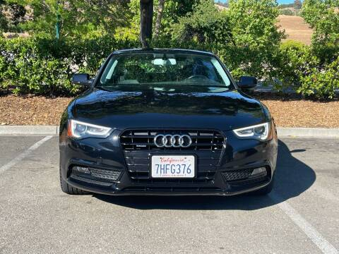 2014 Audi A5 for sale at CARFORNIA SOLUTIONS in Hayward CA