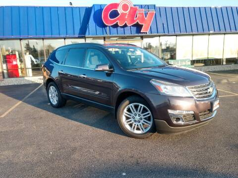 2015 Chevrolet Traverse for sale at CITY SELECT MOTORS in Galesburg IL