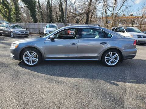 2015 Volkswagen Passat for sale at CANDOR INC in Toms River NJ