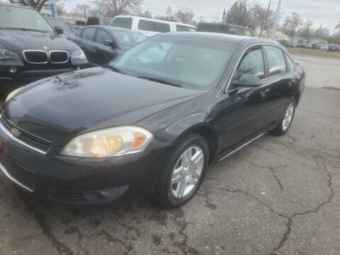 2011 Chevrolet Impala for sale at J & J Used Cars inc in Wayne MI