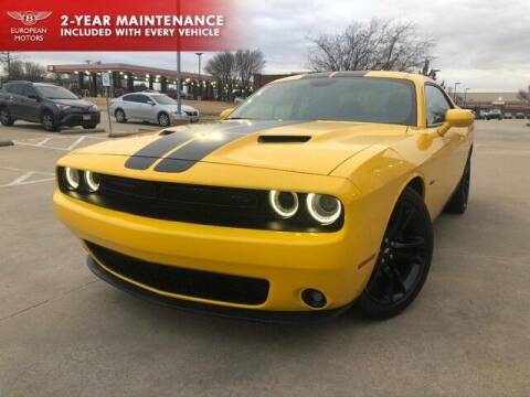 2017 Dodge Challenger for sale at European Motors Inc in Plano TX
