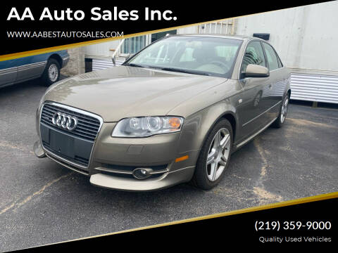 2005 Audi A4 for sale at AA Auto Sales Inc. in Gary IN