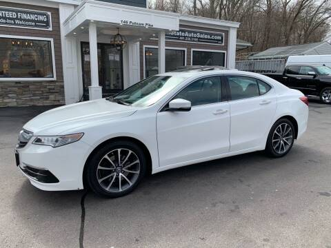 2015 Acura TLX for sale at Ocean State Auto Sales in Johnston RI