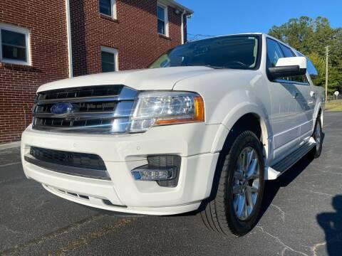 2016 Ford Expedition EL for sale at El Camino Auto Sales in Gainesville GA