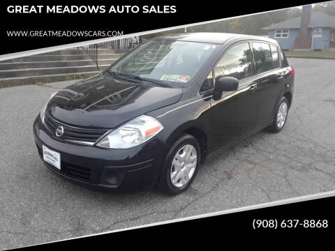 2011 Nissan Versa for sale at GREAT MEADOWS AUTO SALES in Great Meadows NJ