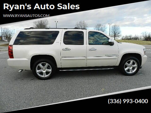 2008 Chevrolet Suburban for sale at Ryan's Auto Sales in Kernersville NC